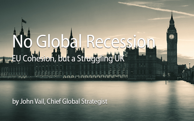 Slowdown but no global recession