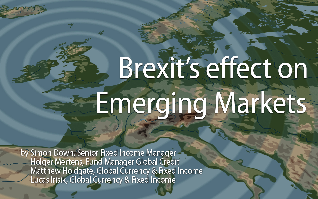 Brexit and Emerging Markets