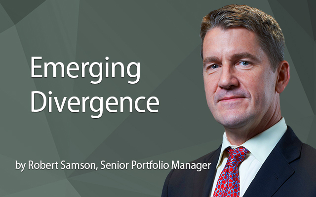 Emerging Divergence as Unwinding of QE Gathers Pace